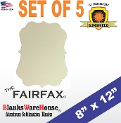 "The FAIRFAX Photo Blank - 8"" x 12"" - 5 pieces"