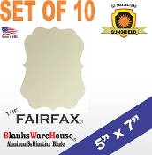"The FAIRFAX Photo Blank - 5"" x 7"" - 10 pieces"