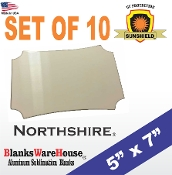 "The NORTHSHIRE Photo Blank - 5"" x 7"" - 10 pieces"