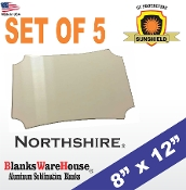 "The NORTHSHIRE Photo Blank - 8"" x 12"" - 5 pieces"
