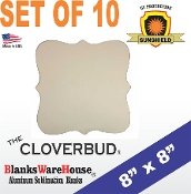 "The CLOVERBUD Photo Blank - 8"" x 8"" - 10 pieces"